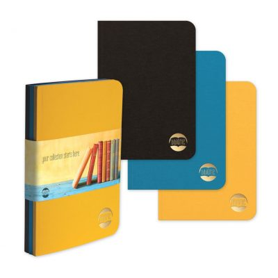 "BrightNotes™ - NotePad TriPac w/GraphicWrap (3 Count) (5""x7"")"