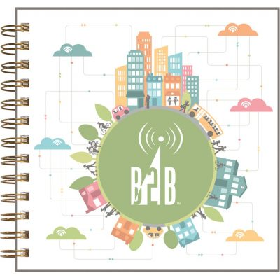"ClearView™ Journal - Square NoteBook (7""x7"")"
