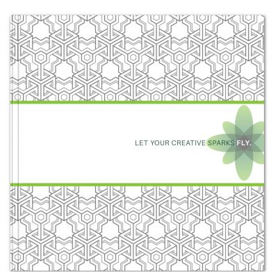 "CreativeSpark™ - Square Journal (8""x8"")"