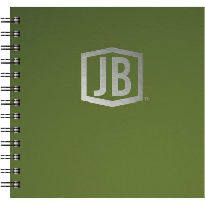 "Deluxe Cover Series 3 - Square NoteBook (7""x7"")"