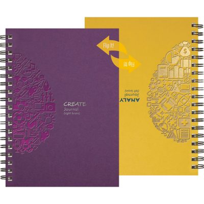 "FlipBooks™ - CreativeThinker Journal (7""x10"")"