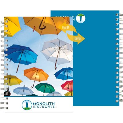 "FlipBooks™ - NoteBook Full-Color (7""x10"")"