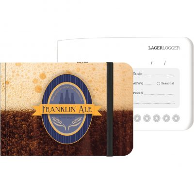 "LifestyleJotters™ - Full-Color Lager (5""x3.5"")"