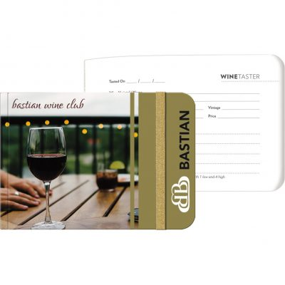"LifestyleJotters™ - Full-Color Wine Taster (5""x3.5"")"