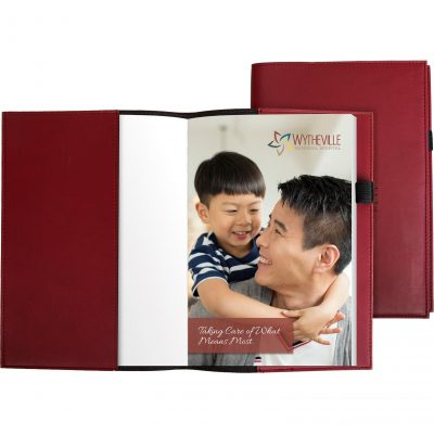 "Pedova™ Refillable w/ Full-Color Tip-in Page (5.5""x8"")"