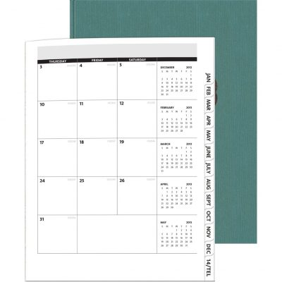 "PerfectPlanners™ - Linen Analyst Monthly (8.5""x11"")"