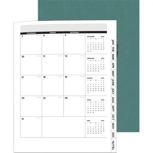 """PerfectPlanners™ - Linen Analyst Monthly (8.5""""x11"""")"""