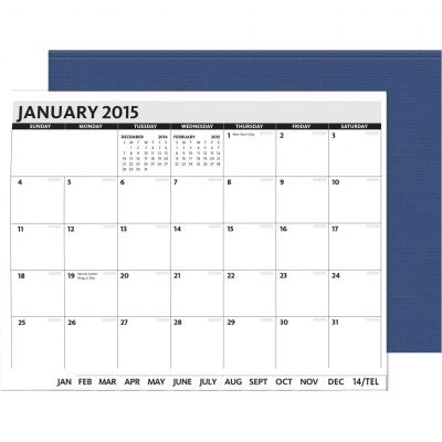 "PerfectPlanners™ - Linen President Monthly (11"" x 8.5"")"