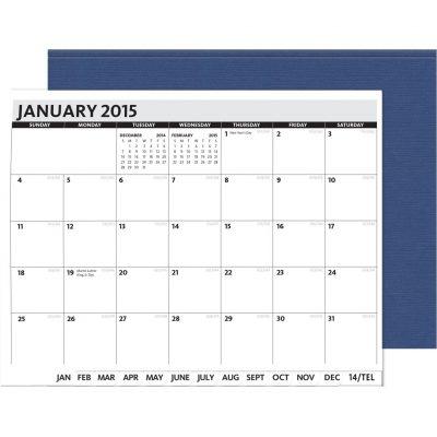 "PerfectPlanners™ - Linen President Monthly (11"" x 8.5"")"