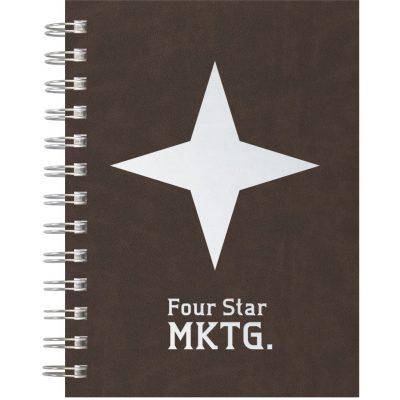 """Premium Leather - Medium NotePad (5""""x7"""")"""