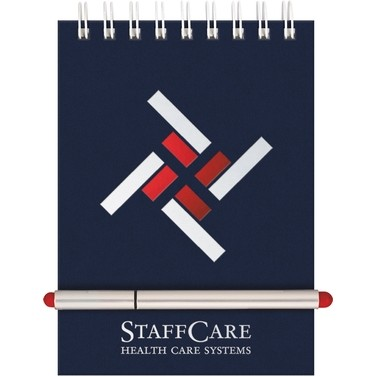 "Stretch Pen Set - Prestige StenoPad Journal (5""x7"")"