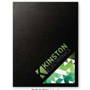 "Textured & Industrial Metallic WindowFlex - Large NoteBook (8.5""x11"")"