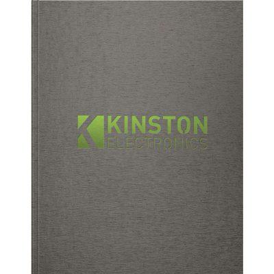 """TexturedMetallic Flex - Large NoteBook (8.5""""x11"""")"""
