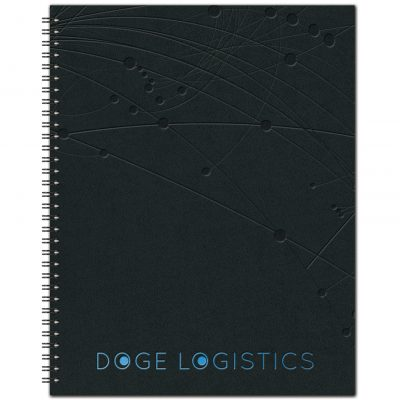 "The Analyst™ Monthly Planner - Leather Front / Chip Back (8.5""x11"")"