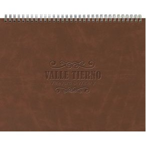 "The President™ Monthly Planner - Leather Front / Chip Back (11""x8.5"")"