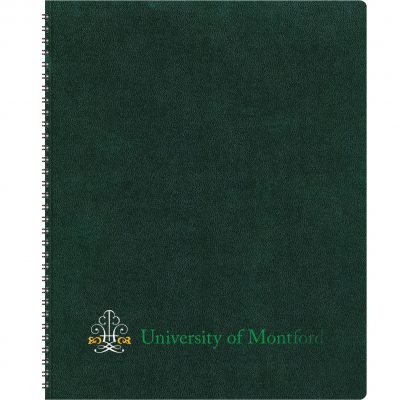 "TheAnalyst™ Monthly Planner - Leatherette Wraparound (8.5""x11"")"