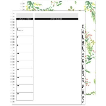 "TheDirector™ Monthly Planner - ClearView/Chip Back (8.5""x11"")"