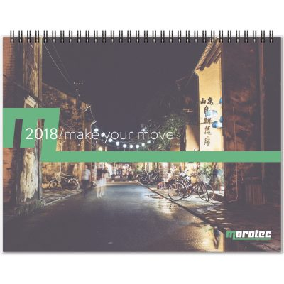 "ThePresident™ Monthly Planner - ClearView™/Chip Back (11""x8.5"")"