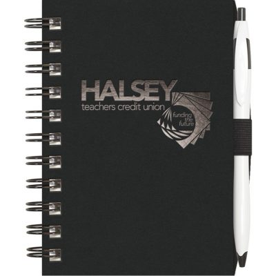"ValueBook™ - Jotter w/PenPort and Cougar Pen (ValueLine) (4""x6"")"