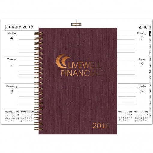 """Wired WeeklyPlanners™ - Medium (5""""x7"""")"""