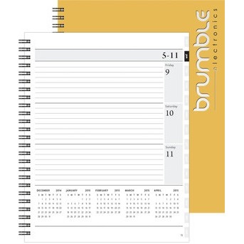 "Xeo Planner™ - Leather Front / Chip Back (7""x8.5"")"