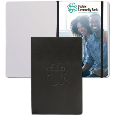 "SoftNova™ Journal w/Full-Color Tip-In (5.5""x8.25"")"