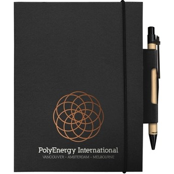 """EcoWrap™ Small NotePad with Pen (5""""x7"""")"""