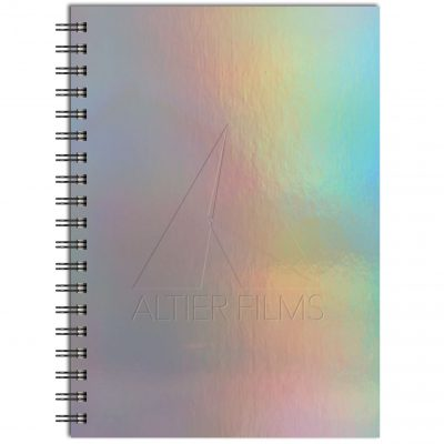 "Holographic Rainbow - Medium NoteBook (7""x10"")"