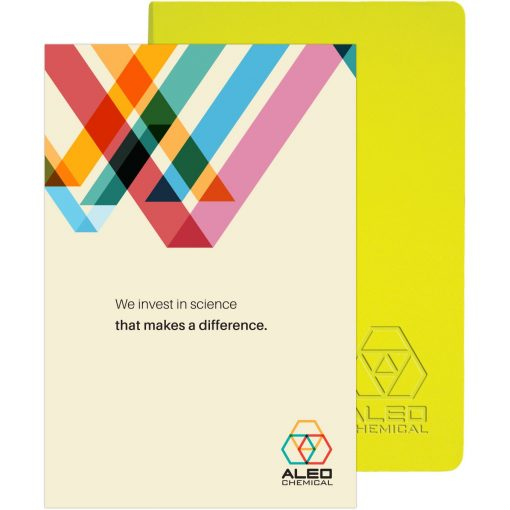 "Ambassador™ Journal w/ Full-Color Tip-In (5.5""x8.25"")"