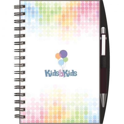 "ClearView™ SeminarPad Journal w/PenPort & Pen (5.5""x8.5"")"