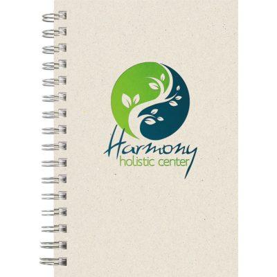 "EcoBooks EcoNote Wire-Bound SeminarPad Notebook (5.5""x8.5"")"