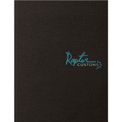 "IndustrialMetallic Journal Large NoteBook (8.5""x11"")"