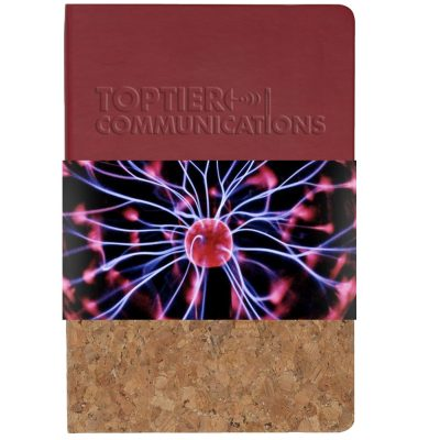 "Lucca™ Journal w/Full Color GraphicWrap (5.5""x8.25"")"