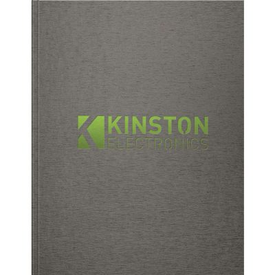 "TexturedMetallic Large NoteBook (8.5""x11"")"