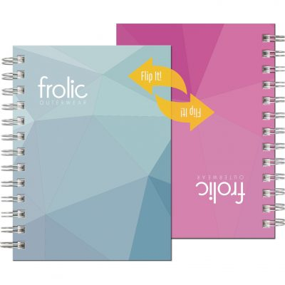 "FlipBooks™ NotePad w/Full-Color Cover (5""x7"")"