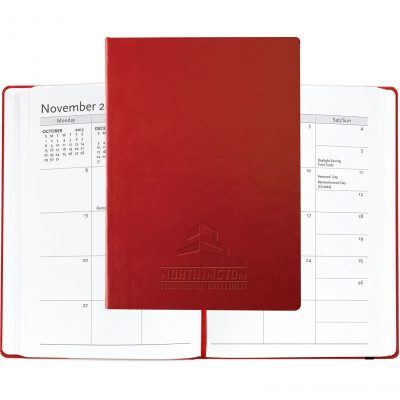 "Large Casebound Hybrids™ Bohemian™ Journal w/Planner (7""x10"")"