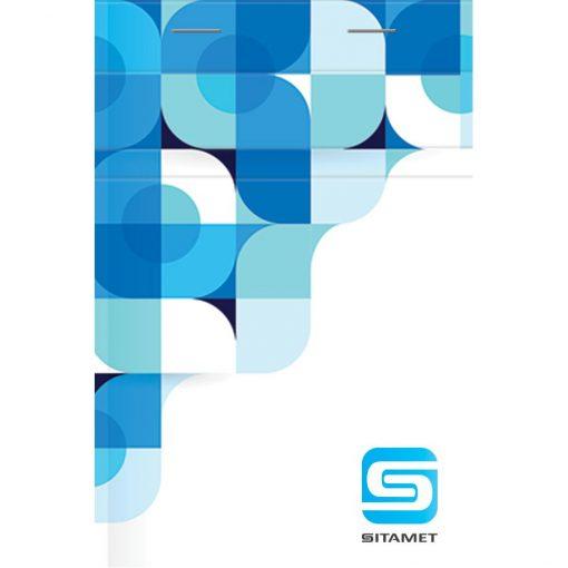 """Medium JustNotes Notepad w/Full-Color Logo (4""""x6"""")"""