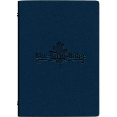 Small Leather Refillable Binder