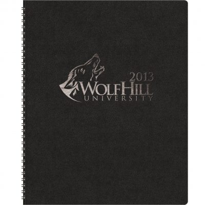 "TheDirector™ Monthly Planner w/Leatherette Wraparound (8.5""x11"")"
