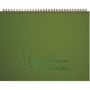 "ThePresident™ Deluxe Front Monthly Planner w/Chip Back (11""x8.5"")"